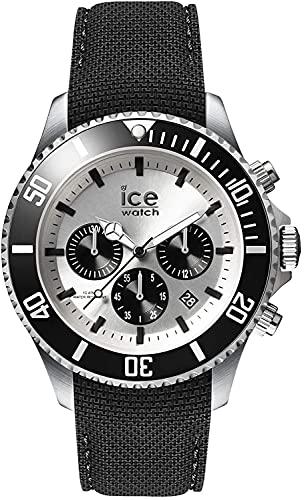 ICE-WATCH - ICE steel Black Silver Chrono -...