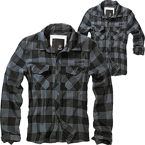 Brandit Check Shirt Herren Baumwoll Hemd 4XL...