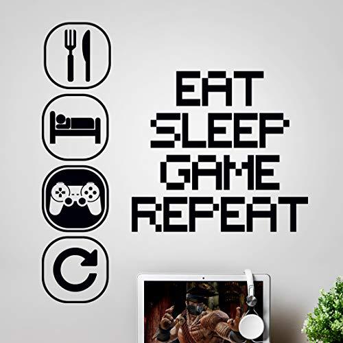 Wandsticker Kunst Gaming Jungen Schlafzimmer...
