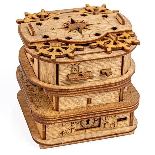 iDventure Cluebox - Davy Jones Locker - Escape...