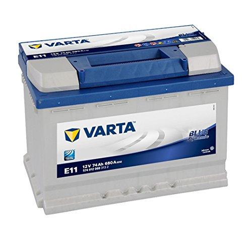 Varta E11 Blue Dynamic Autobatterie, 574 012 068...