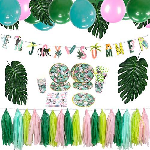 Easy Joy Tropische Dekoration Wald Dschungel Party...