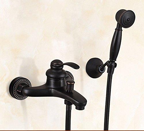 SADASD Moderne Kupfer Bad schwarz Dusche...