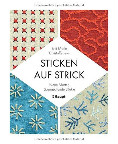 Sticken auf Strick: Neue Muster, überraschende...
