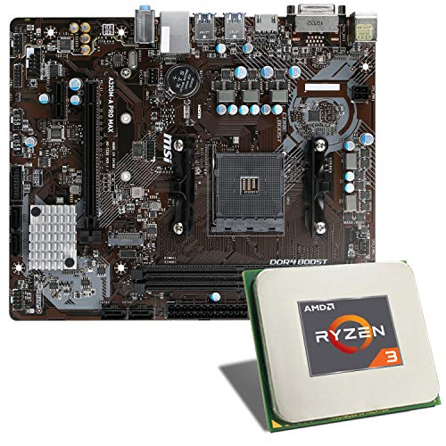 AMD Ryzen 3 3200G / MSI A320M-A PRO MAX Mainboard...