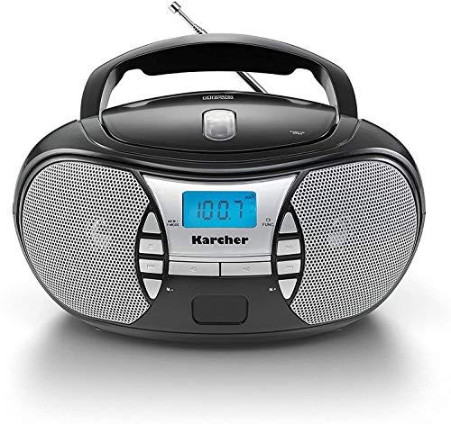KARCHER RR 5025-B tragbares CD-Radio I CD-Player...