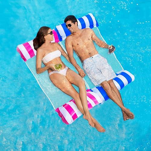 ECtury Luftmatratze Pool, Pool Wasserhängematte...