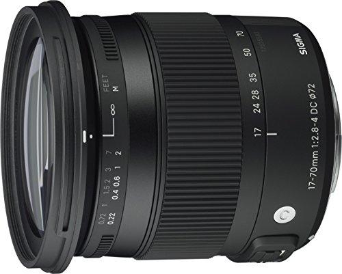 Sigma 17-70 mm f2,8-4,0 Objektiv (DC, Makro, OS,...