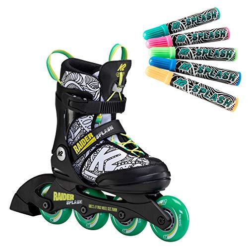 K2 Inline Skates RAIDER SPLASH Für Jungen Mit K2...