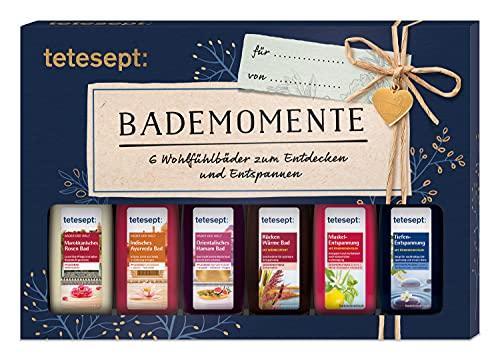 tetesept Bäder Geschenkset Bademomente –...