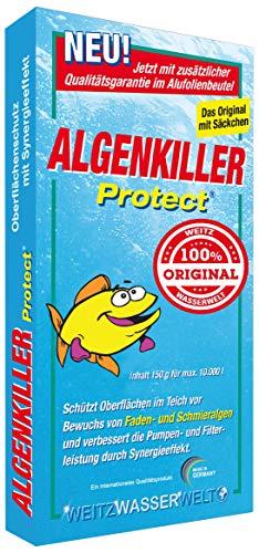 Algenkiller Protect® - Wasserpflege für Garten-...