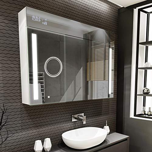 Artforma Spiegelschrank mit LED Beleuchtung...