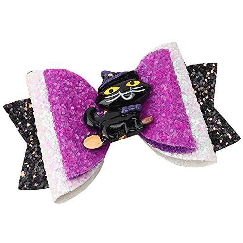 Halloween Bowknot Haarspangen Kinder Mädchen...