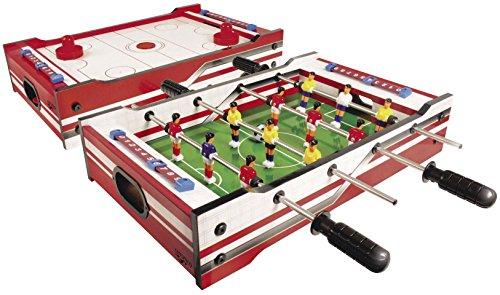 Carromco 6002 Multi-Spiel 2in1 – Multigame...