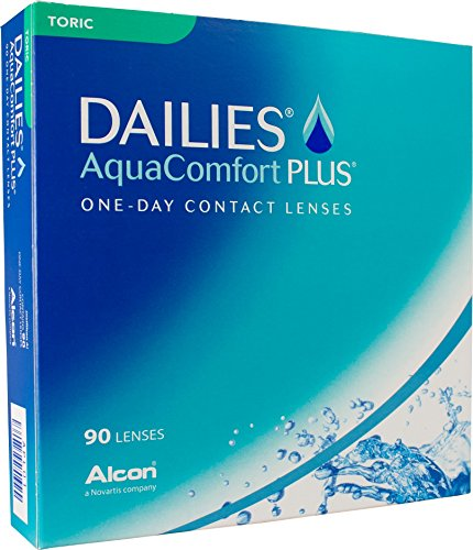 Dailies AquaComfort Plus Toric Tageslinsen weich,...