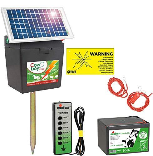 Eider Solar Weidezaungerät B 7000 mit 5 Watt...