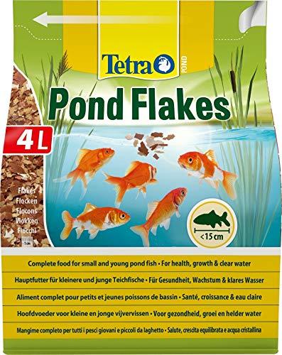 Tetra Pond Flakes – Fischfutter für kleinere...