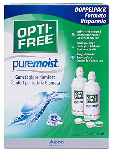 Opti-Free PureMoist Pflegemittel, Vorratspackung...