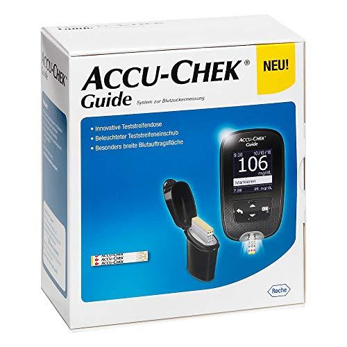 Accu-Chek Guide Blutzuckermessgerät Set mg/dl