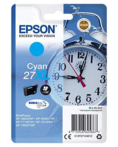 Epson Original 27XL Tinte Wecker (WF-3620DWF...