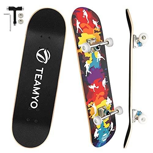 Skateboard Komplettboard, 80 x 20 cm Skate Boards...