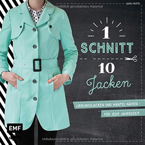 Ein Schnitt, zehn Jacken: Lieblingsjacken und...