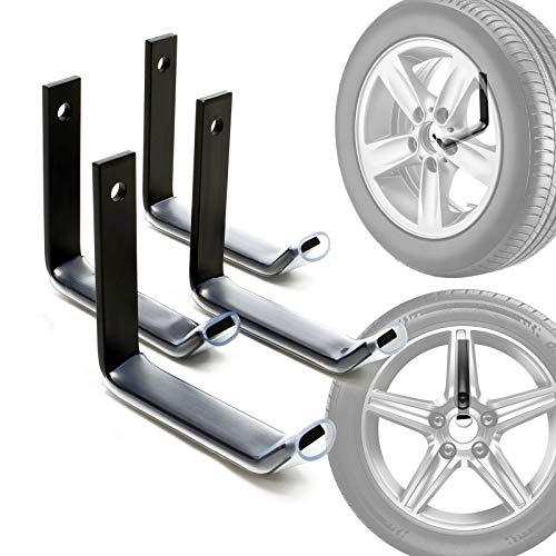 Reifenhalter Wandhalterung für 4 Reifen Zubehör...