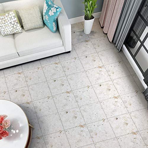 KINLO PVC Bodenbelag selbstklebend Bodenfliesen...