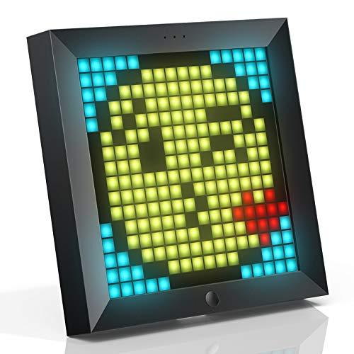 Divoom Pixoo Pixel Art Digitaler Bilderrahmen,...