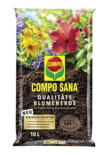 Compo SANA Qualitäts-Blumenerde mit 12 Wochen...