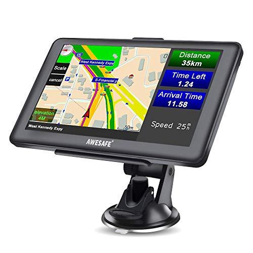 AWESAFE GPS Navi Navigation für Auto LKW PKW KFZ...