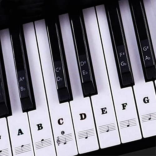 Traumreiter Aufkleber SW Klaviertasten Noten...