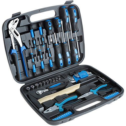 TecTake 402789 Universal Werkzeugkoffer 57 teilig,...