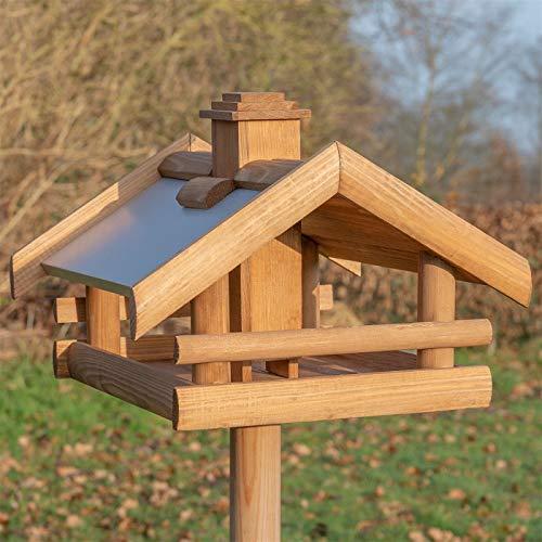 VOSS.garden Vogelhaus Grota inkl. Ständer aus...