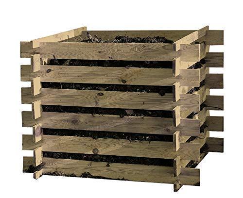 Steckkomposter Holz Kompostsilo Bausatz...