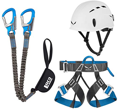 Klettersteigset LACD Pro Evo + Salewa Helm Toxo &...