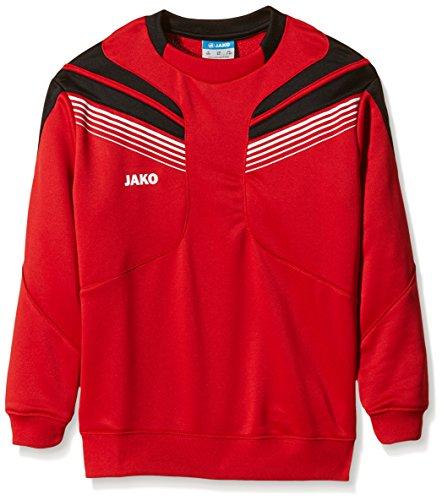 JAKO Trainingssweat Pro, Rot/Schwarz/Weiß, 164,...