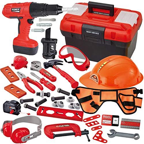 JOYIN 40-teiliges Werkzeugkoffer, Kinder Werkzeug...