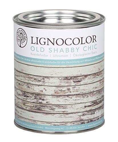 Kreidefarbe (Weiss) Shabby Chic Lack Landhaus...