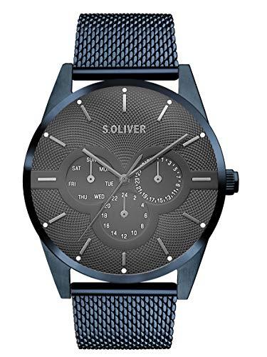 s.Oliver Herren Multi Zifferblatt Quarz Armbanduhr...