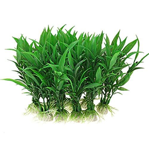 Y56 10PCS Kunststoff künstliche Gras Dekoration...