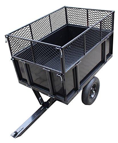 TRUTZHOLM® Anhänger Rasentraktor 300 kg kippbar...