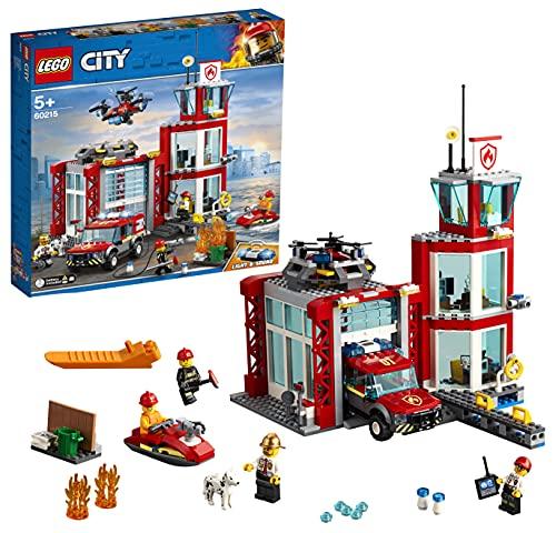 LEGO 60215 City Feuerwehr-Station, Bauset mit...