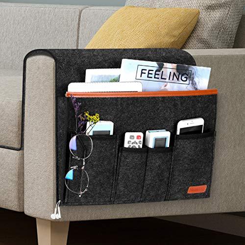 Sofa Armlehne Organizer mit 6 Taschen, Simboom...
