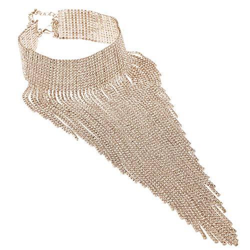 Lätzchen Aussage Halskette für Frauen Gold...