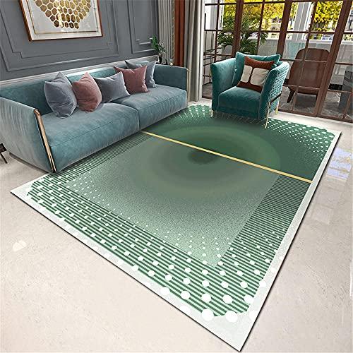 Teppich Teppich rund Wohnzimmer Gradient grün...