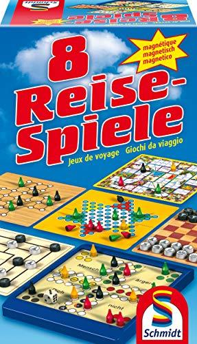 Schmidt Spiele 49102 - 8 Reise-Spiele,...