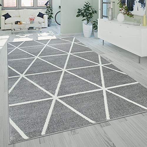 Paco Home Wohnzimmer Teppich Moderne Pastell...