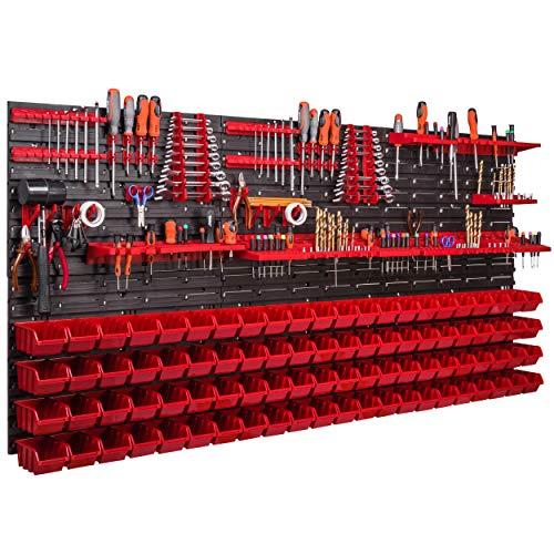 Werkzeugwand 1728 x 780 mm Stapelboxen...