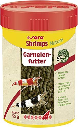 Sera shrimps Nature 100 ml das Granulat mit u.a....